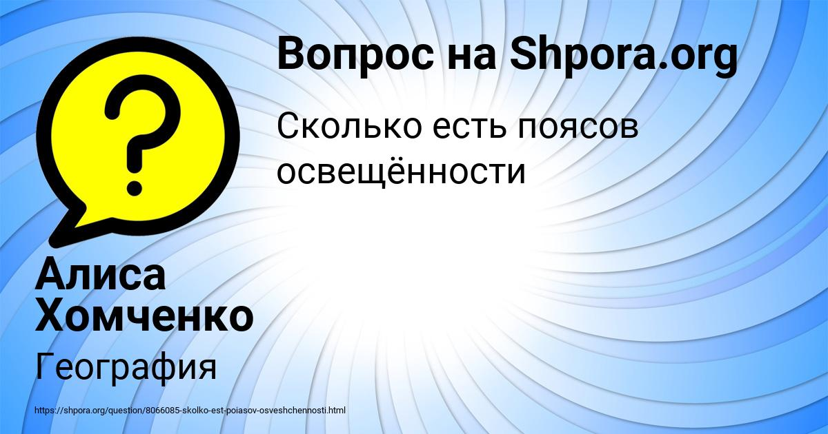 Картинка с текстом вопроса от пользователя Алиса Хомченко